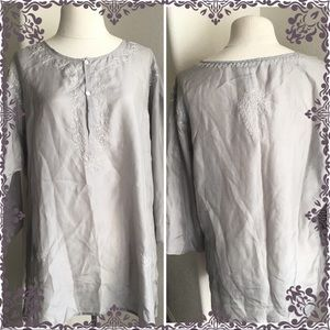 Old Navy Women's Silk Top Size L ( Large) NWT
